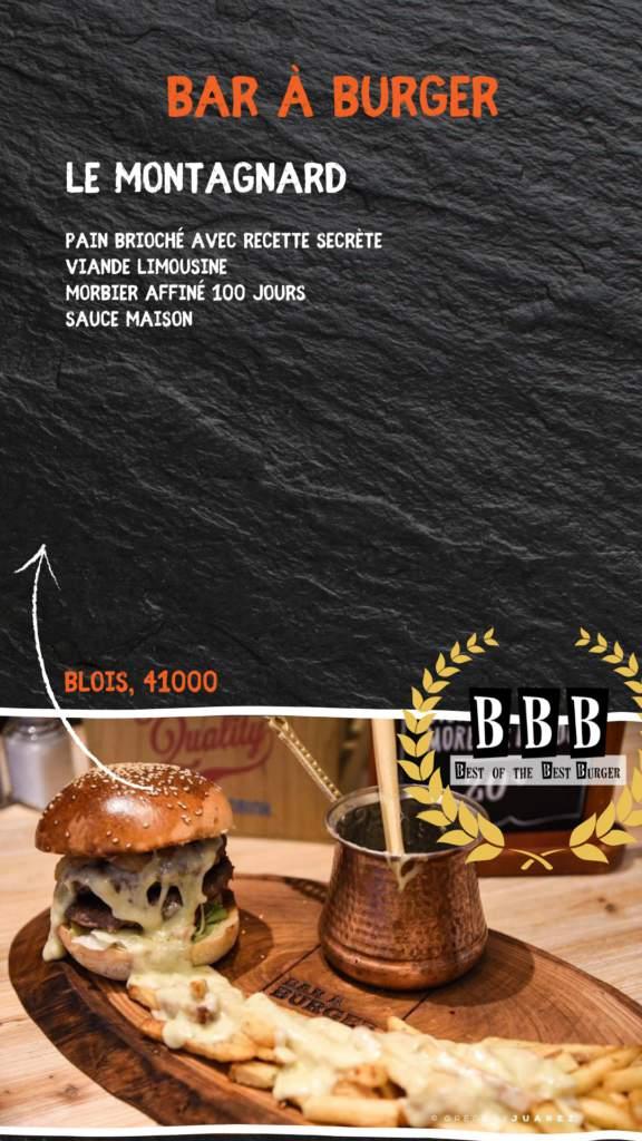 burger du bar à burger