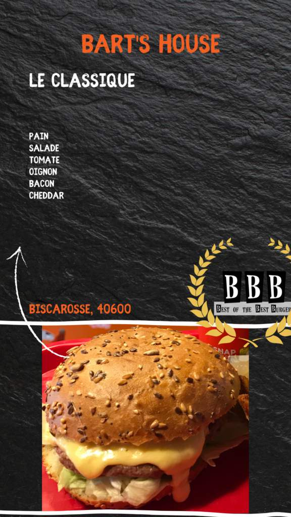 Burger du Bart's House