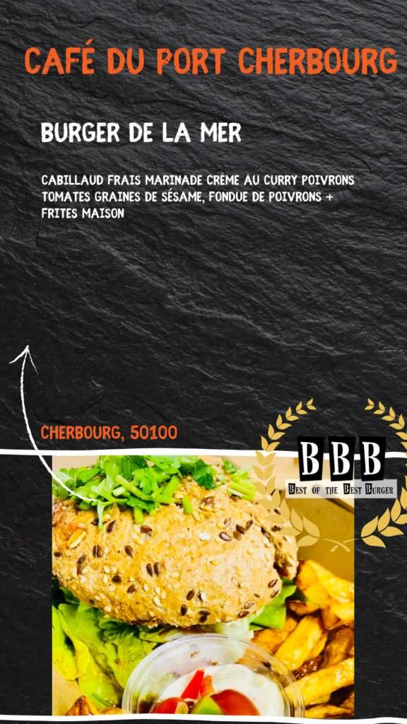 burger du café du port cherbourg