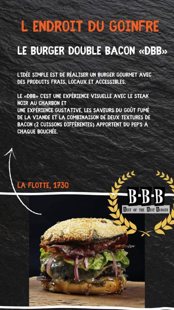 burger de l'endroit du goinfre