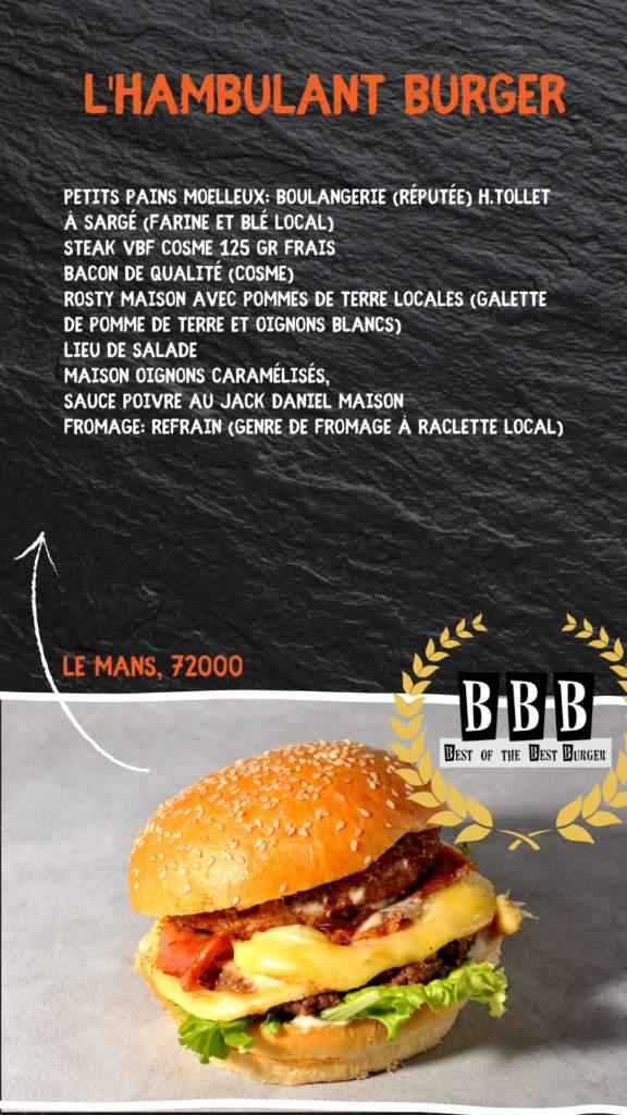 burger de l'hambulant