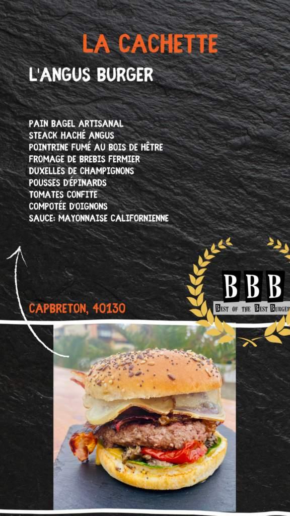 Burger de la Cachette