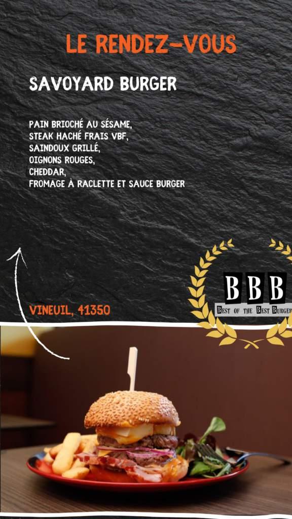 Burger du Rendez-vous