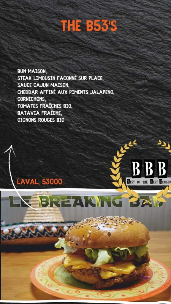 Burger de The B53'S