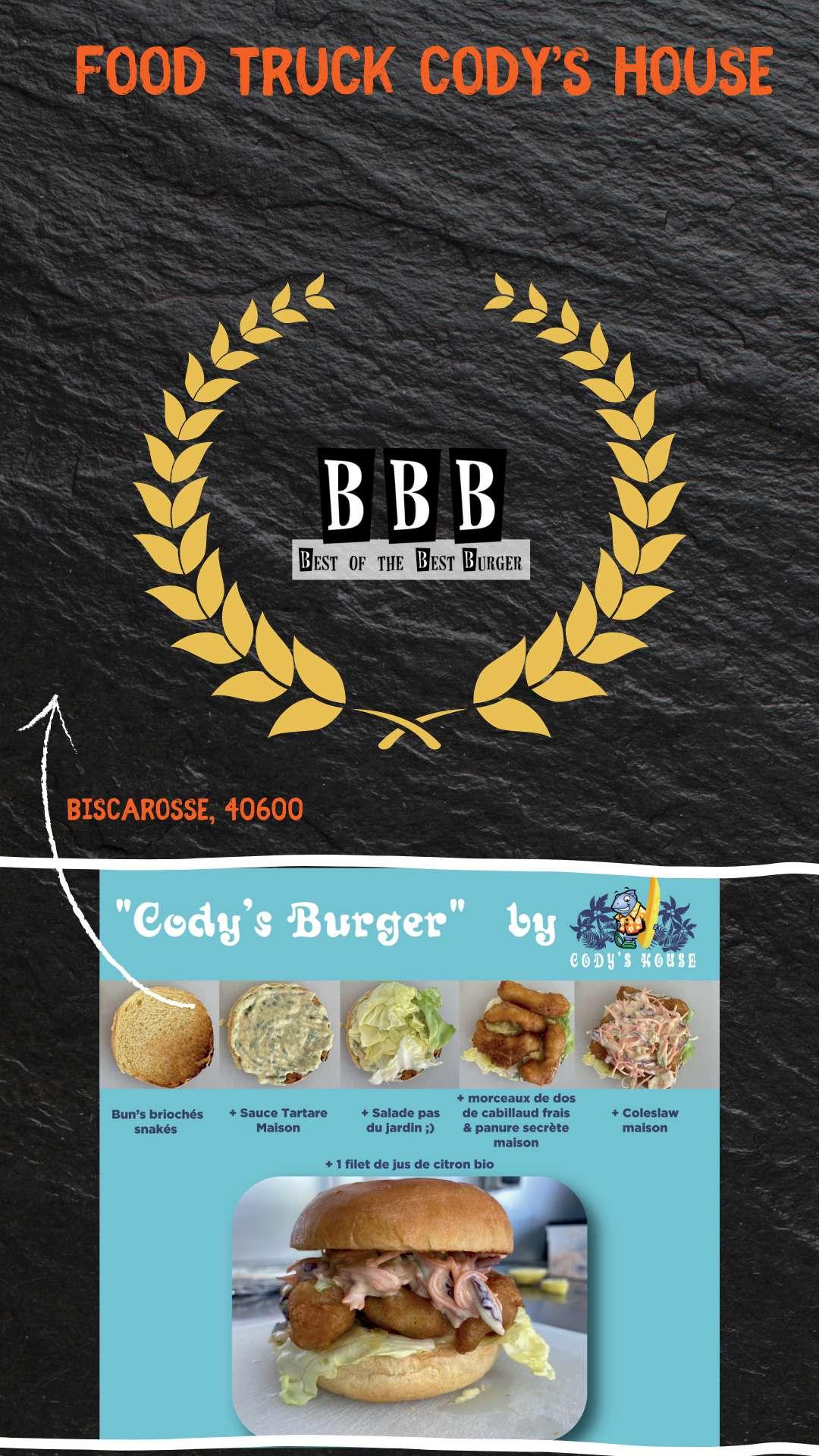Burger du Cody's Burger