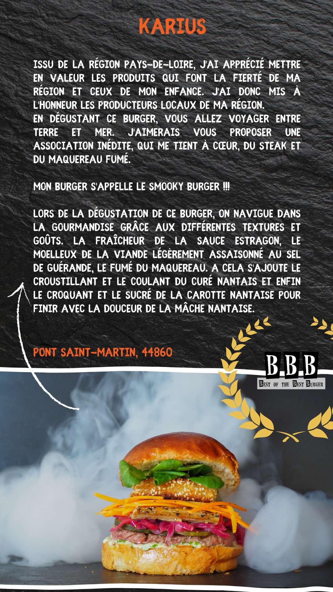 Burger du Karius