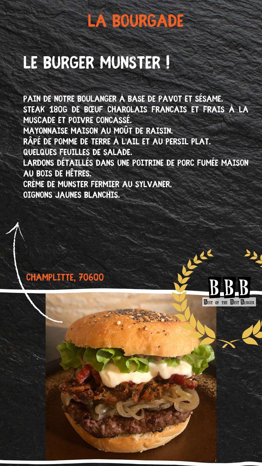 Burger de la Bourgade