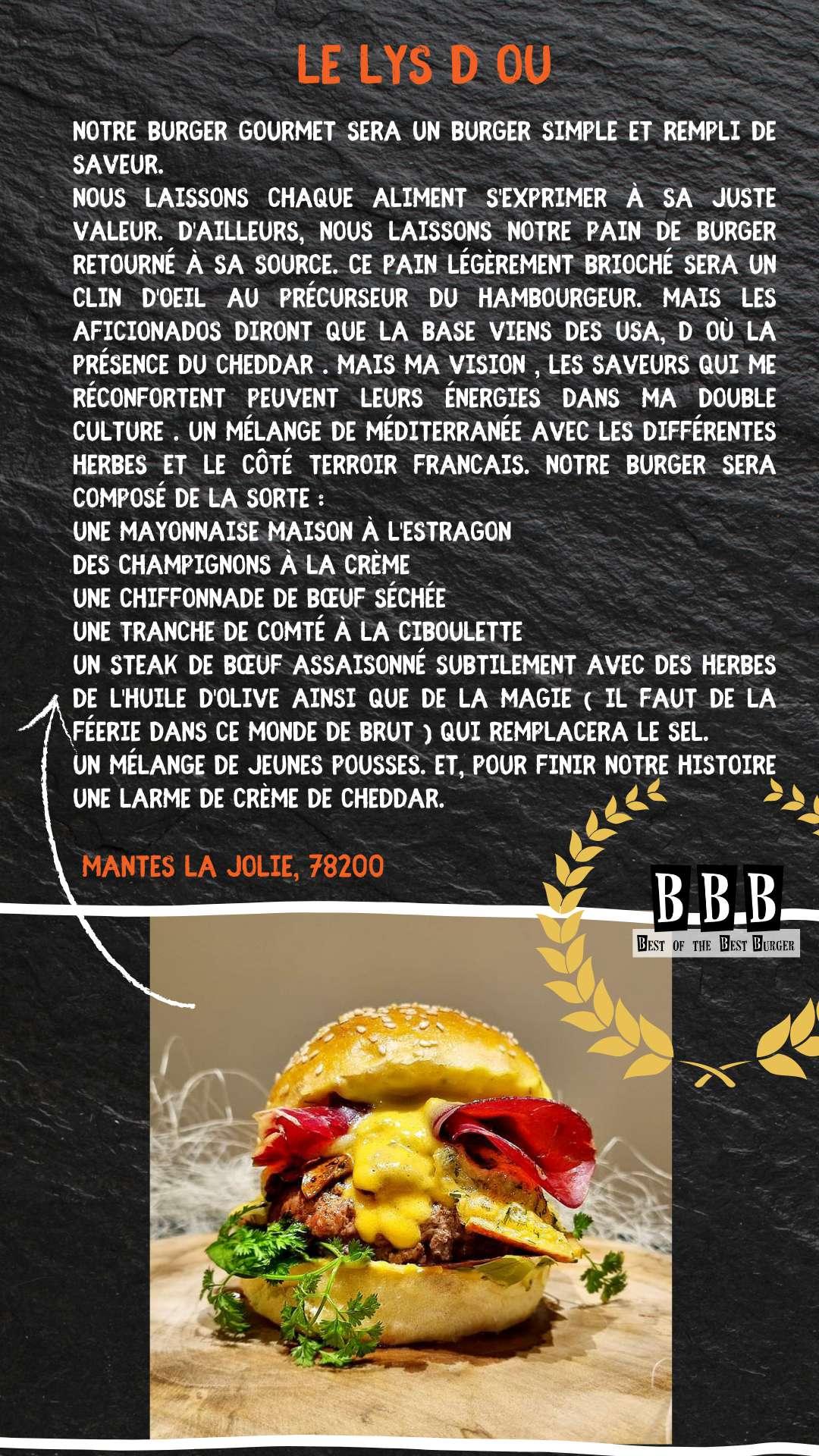 Burger du Lys d'Or