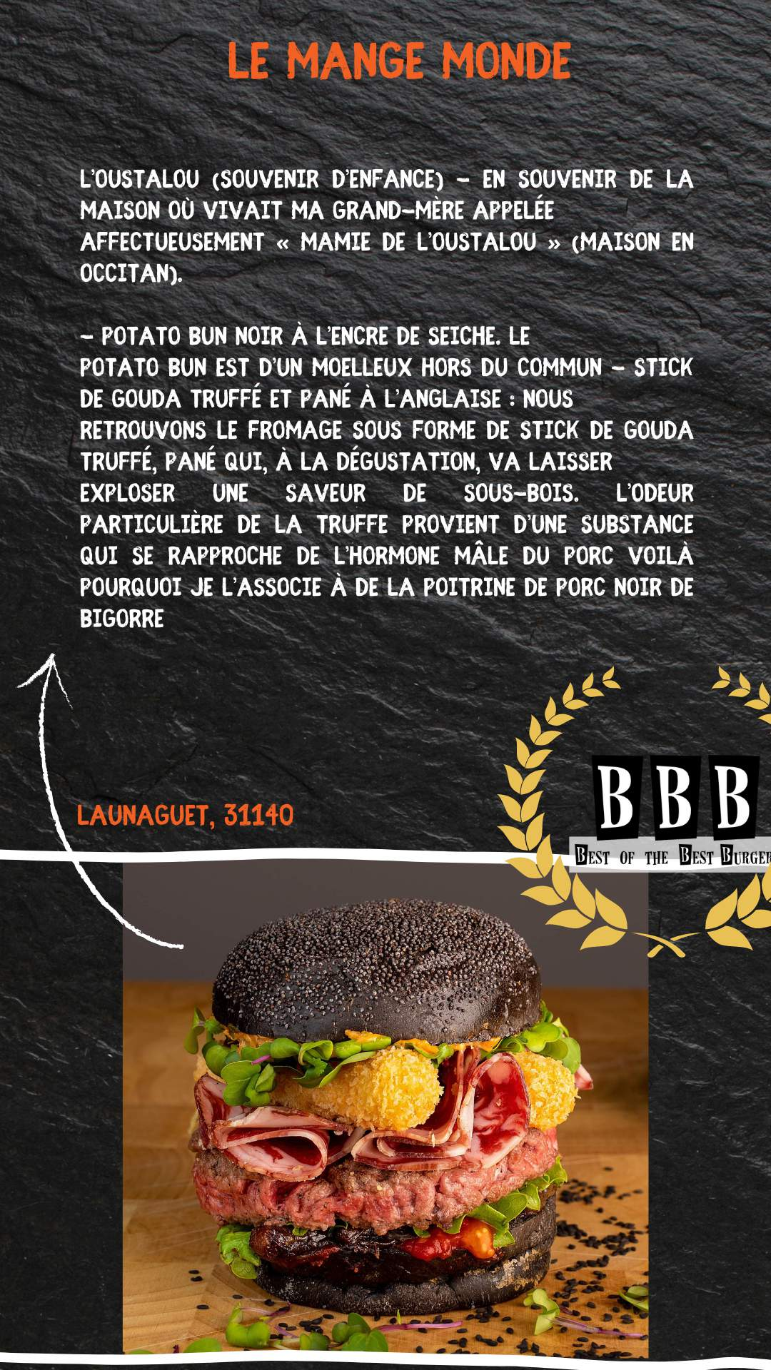 Burger du mange monde
