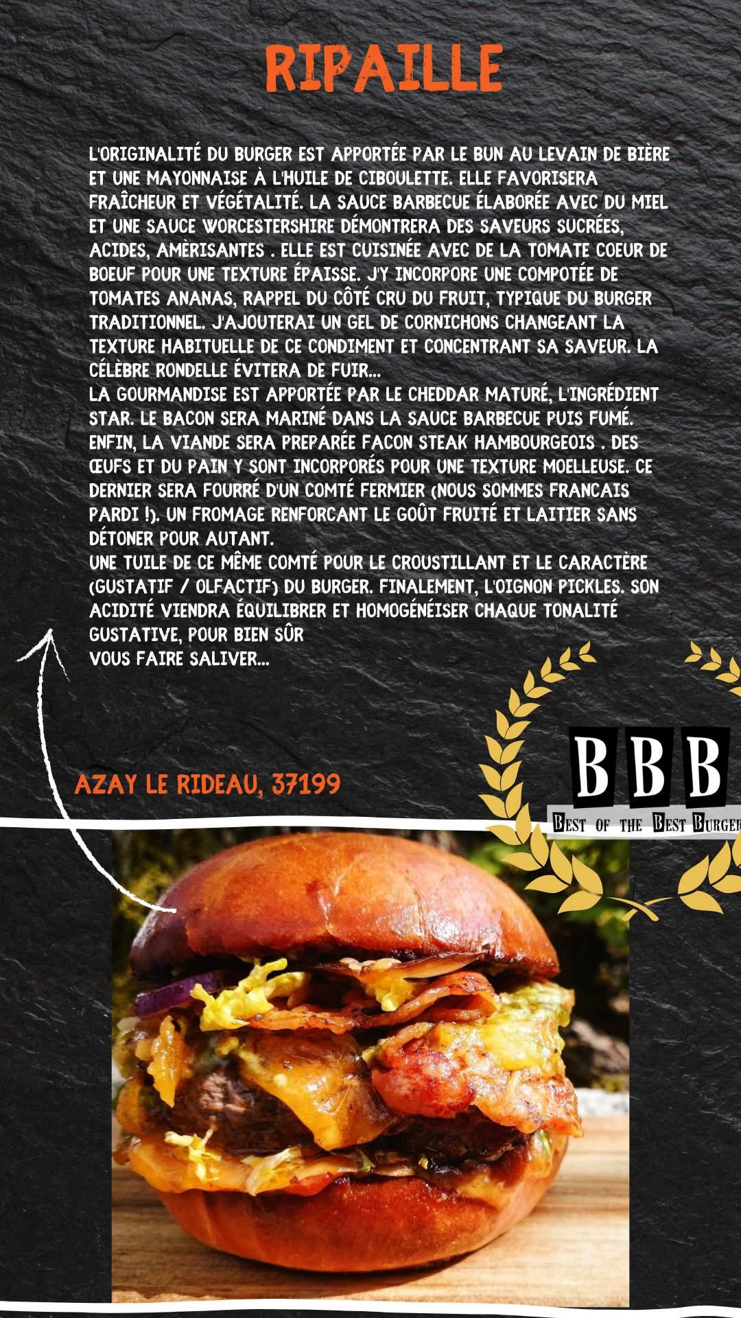 Burger du Ripaille