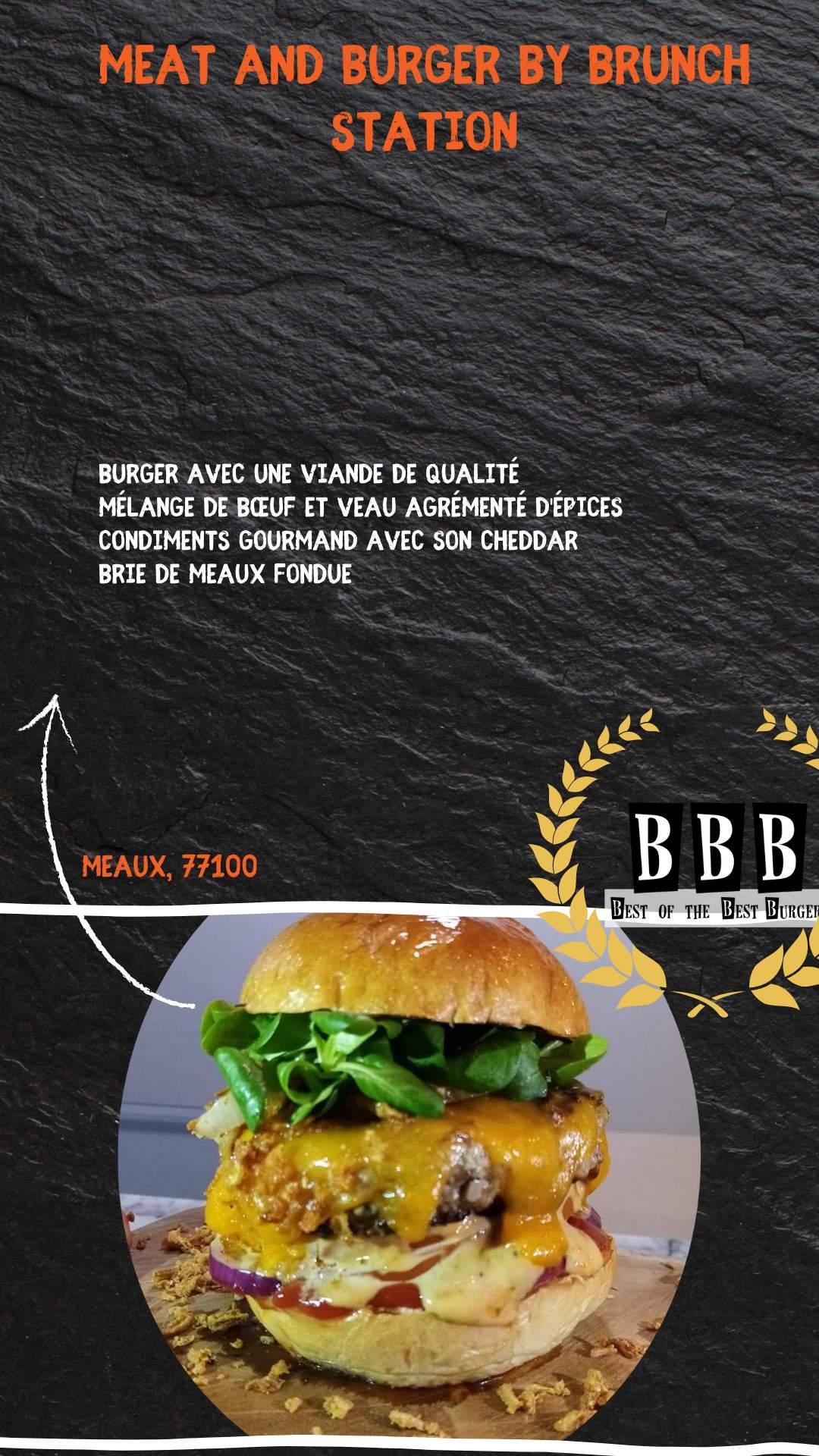 Burger du Meat and burger