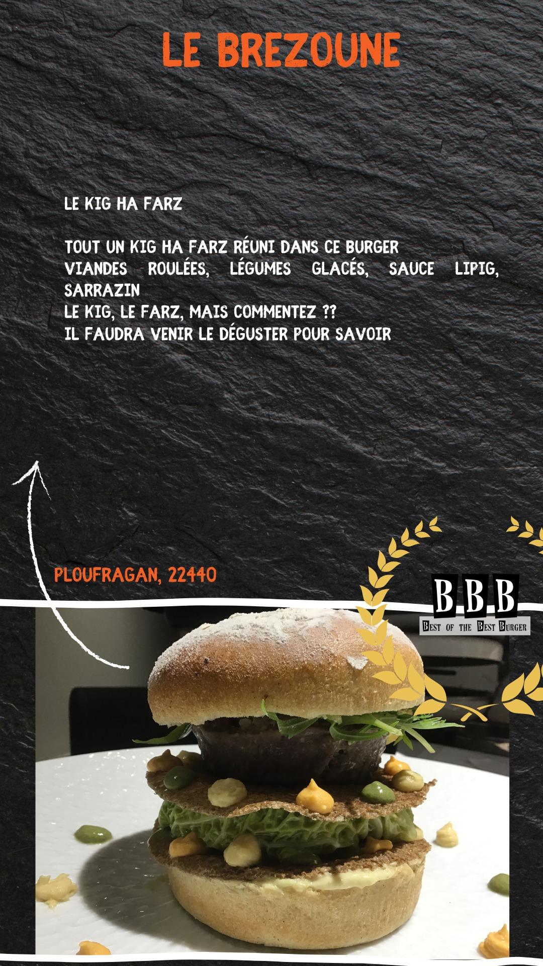 Burger de la Brezoune