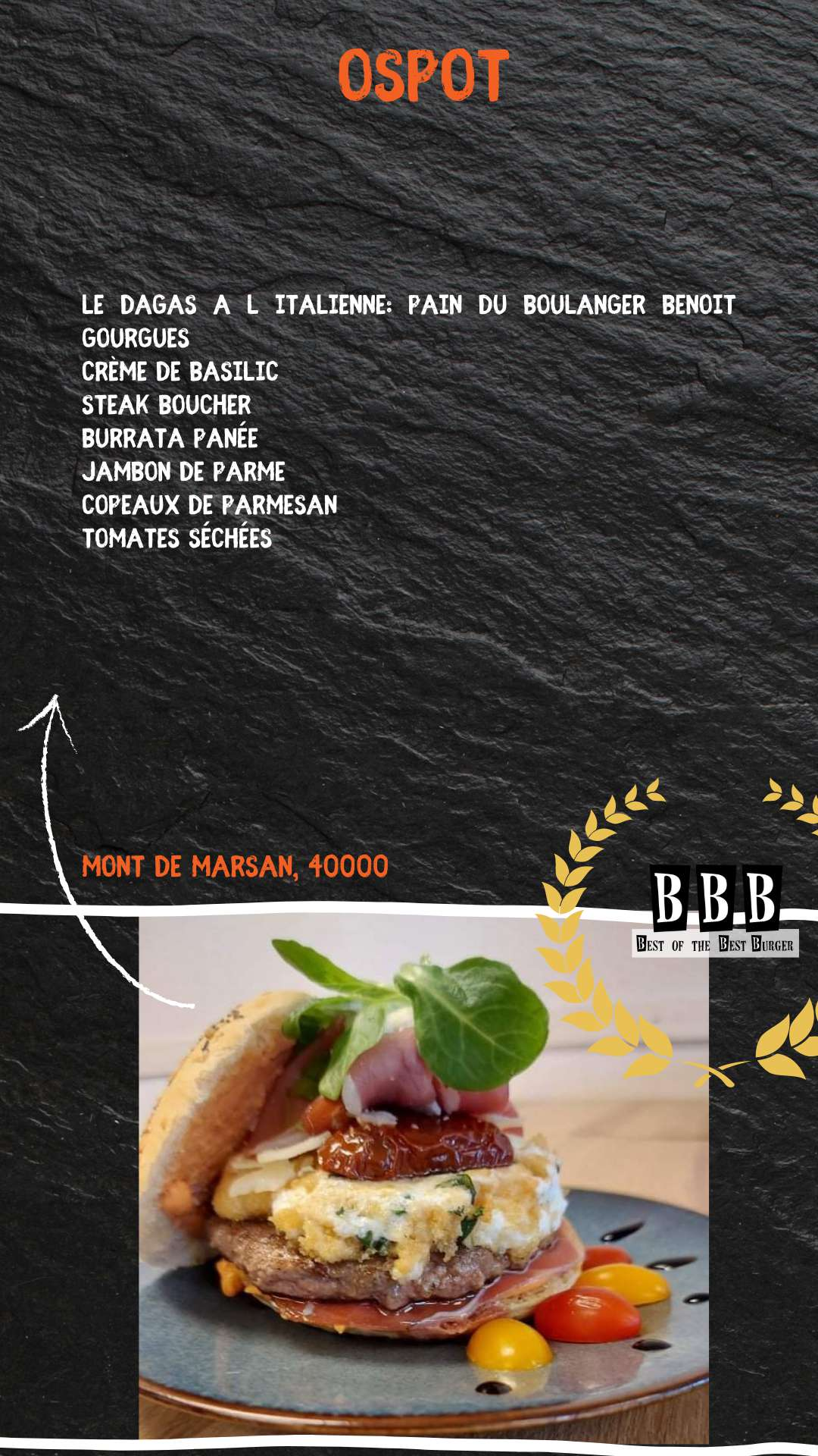 Burger de Ospot